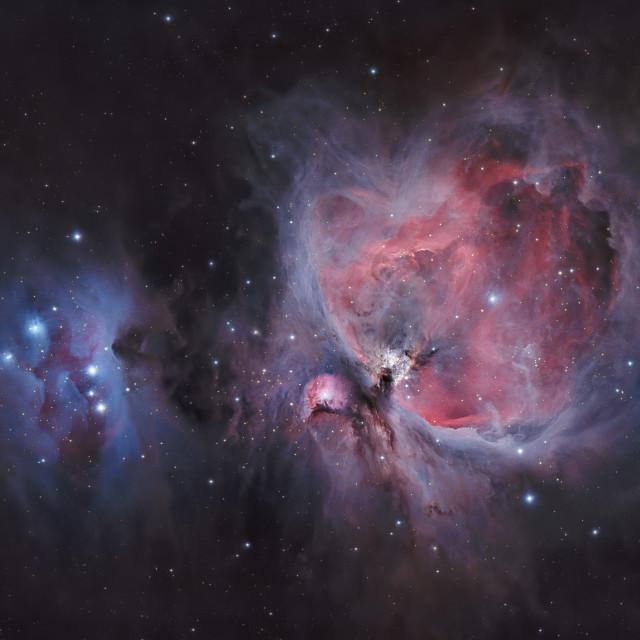 """""""Orion Nebula"""" stock image"""