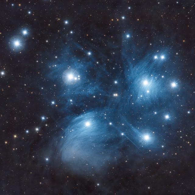 """Pleiades"" stock image"
