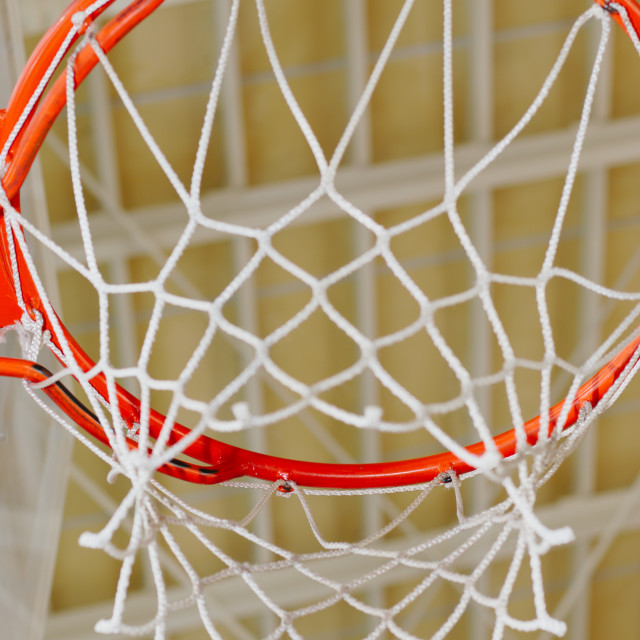 """basketball hoop and net"" stock image"