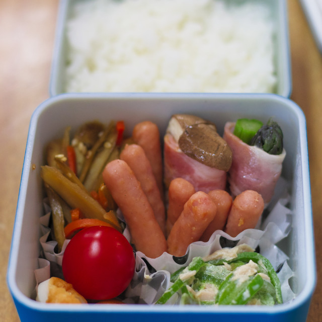 """bento box lunch in Japan"" stock image"