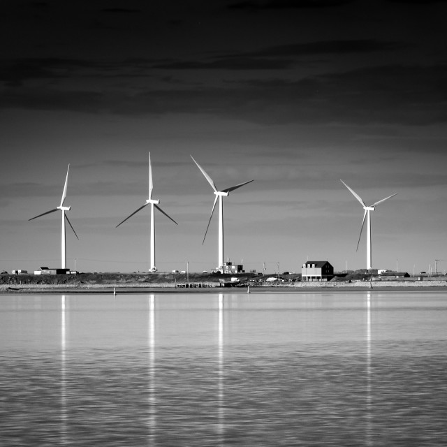 """Windfarm"" stock image"