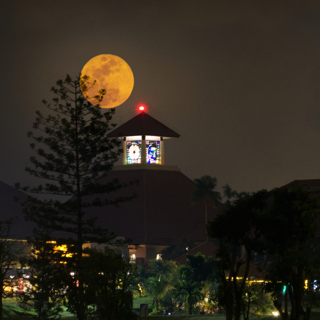 """Moon Clock"" stock image"