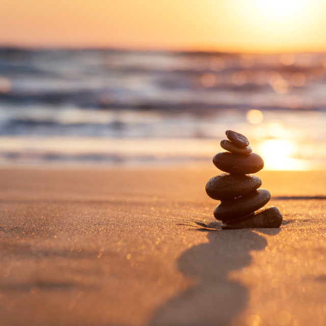 """Stones Balance."" stock image"