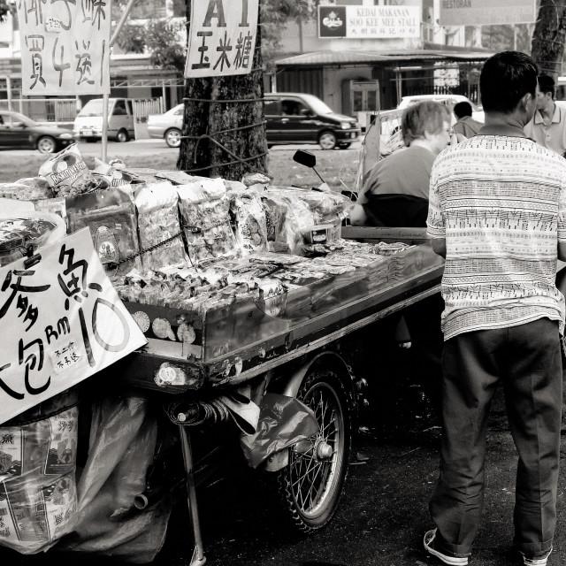 """Food Mobile Stall, Singapore"" stock image"
