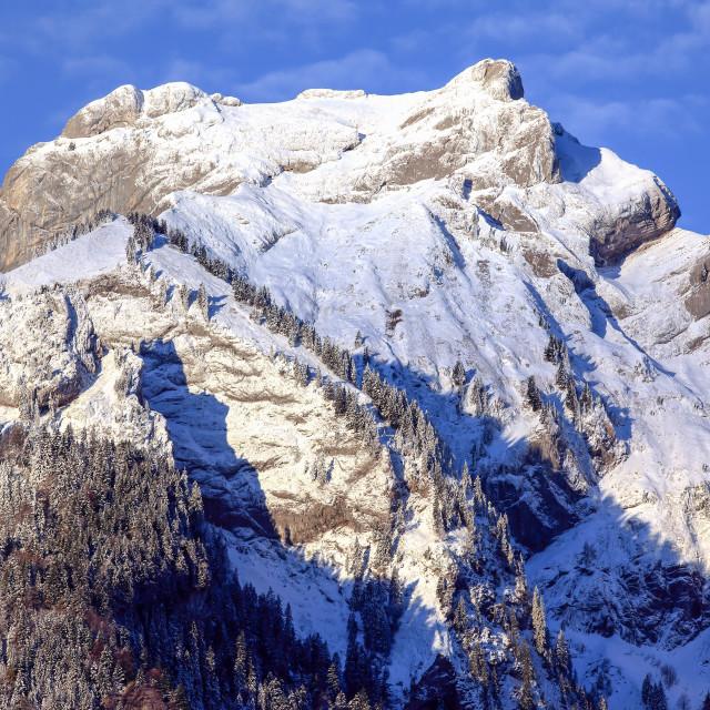 """Mount Pilatus, Switzerland"" stock image"
