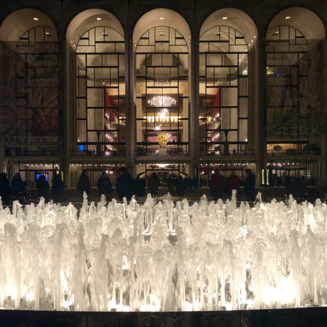"""Lincoln Center for the Performing Arts"" stock image"