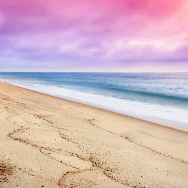 """Cape Cod Sunrise"" stock image"