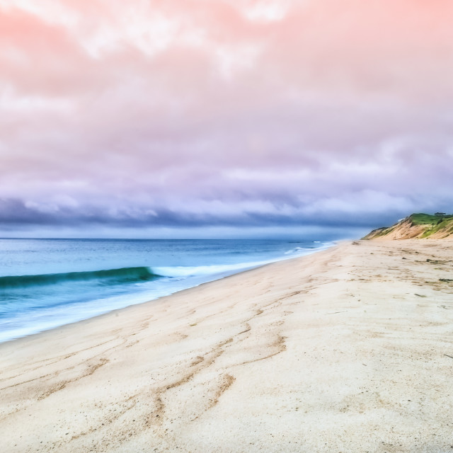 """""""Cloudy Cape Cod"""" stock image"""