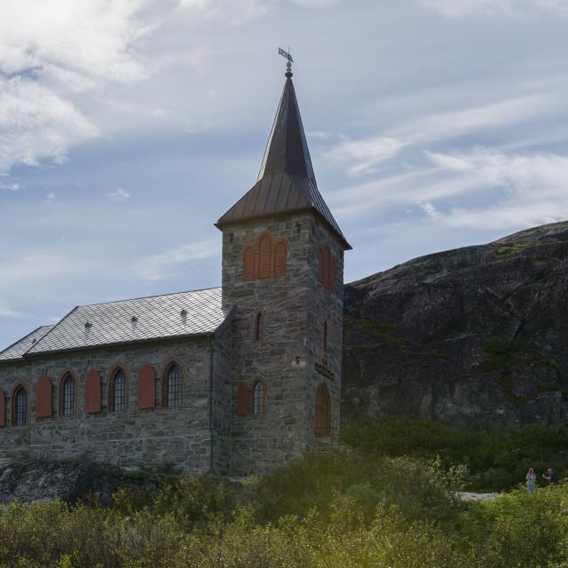"""""""King Oscar II chapel"""" stock image"""