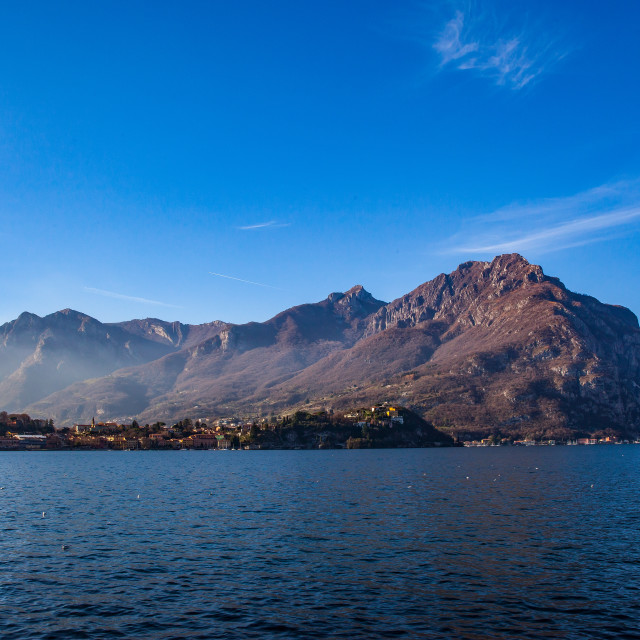 """Lake Como, Italy"" stock image"