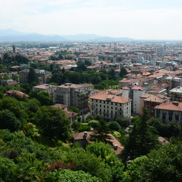 """Bergamo, Italy"" stock image"