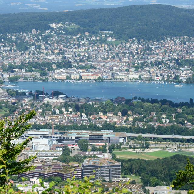 """""""Zurich, Switzerland"""" stock image"""