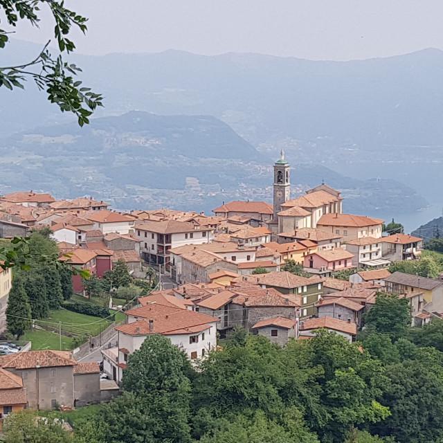 """Parzanica, Lombardy, Italy"" stock image"