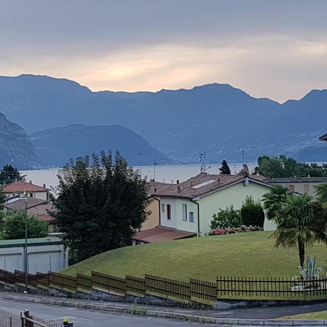 """Iseo, Italy"" stock image"