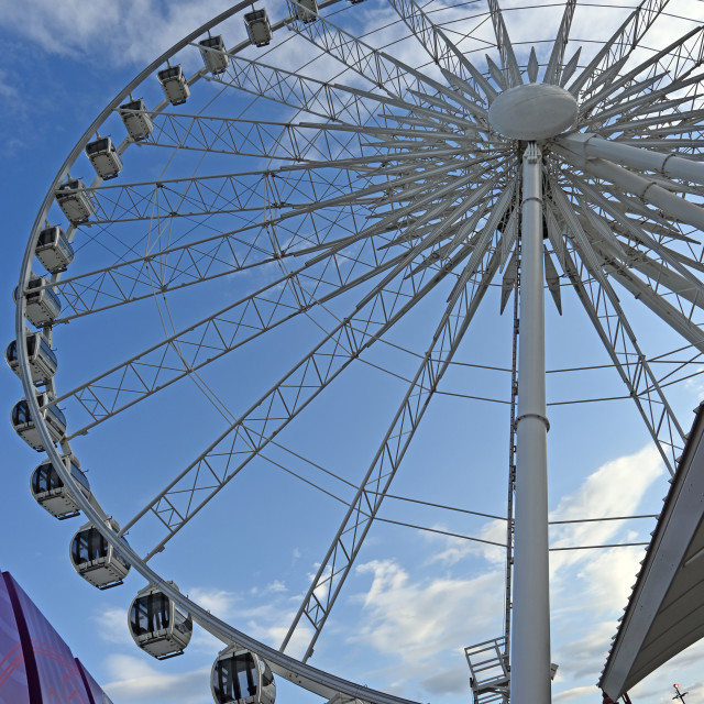 """""""Niagara Sky Wheel"""" stock image"""