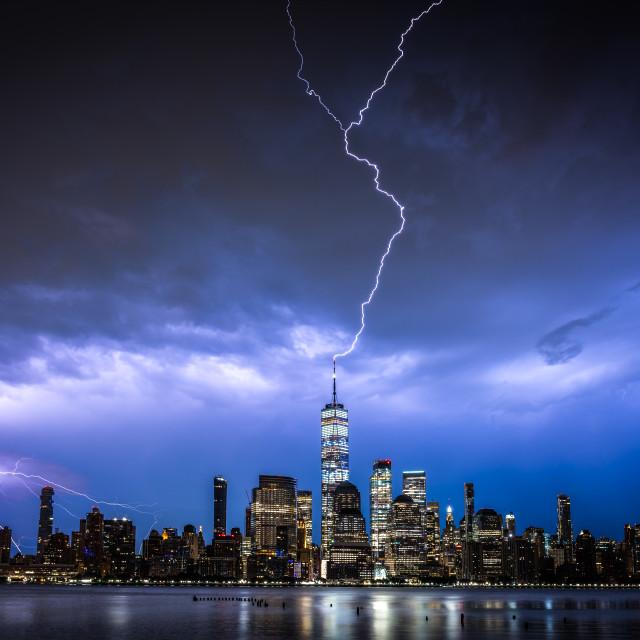 """Stranger things NYC"" stock image"