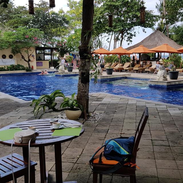 """Mercure Resort Sanur, Bali, Indonesia"" stock image"