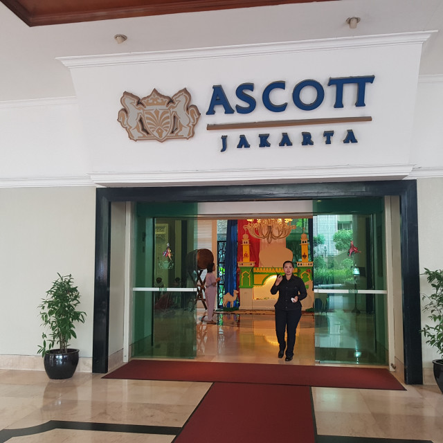 """Ascott serviced apartments, Jakarta, Indonesia"" stock image"