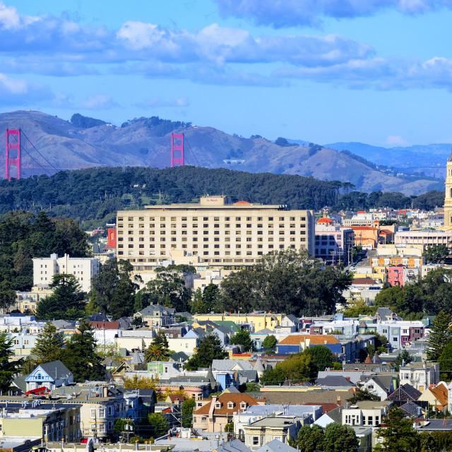 """San Francisco View"" stock image"