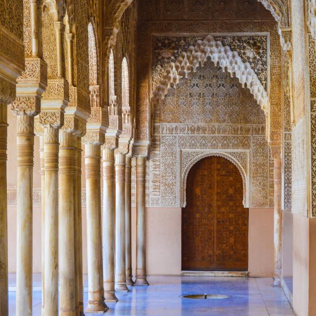 """THE ALHAMBRA PALACE"" stock image"