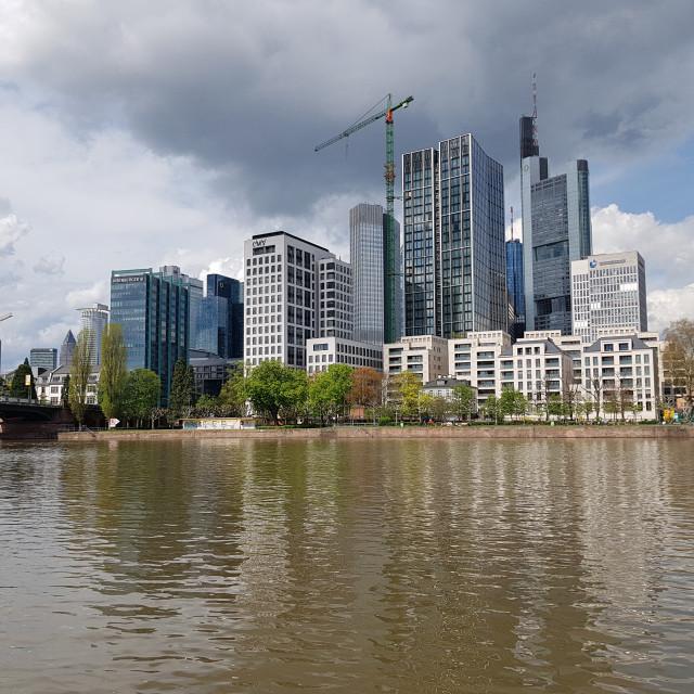 """Frankfurt, Germany"" stock image"