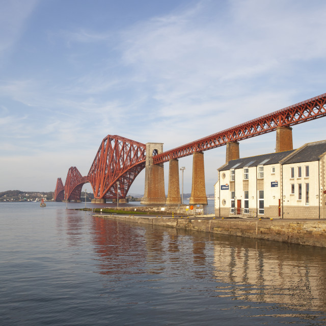 """Forth Railway Bridge, Scotland"" stock image"
