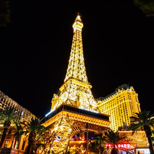 """""""Las Vegas: Paris"""" stock image"""