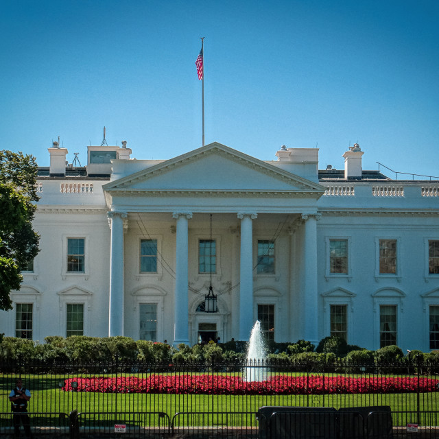 """""""The White House"""" stock image"""