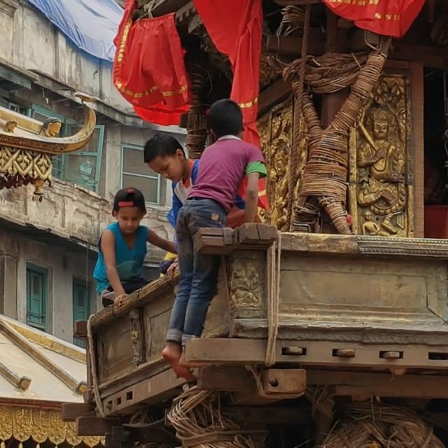 """""""Kathmandu, Nepal"""" stock image"""
