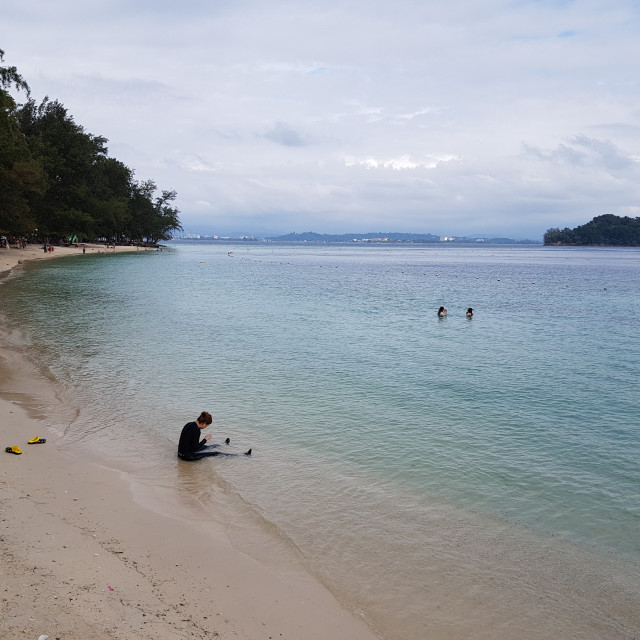 """Manukan Island, Malaysia"" stock image"