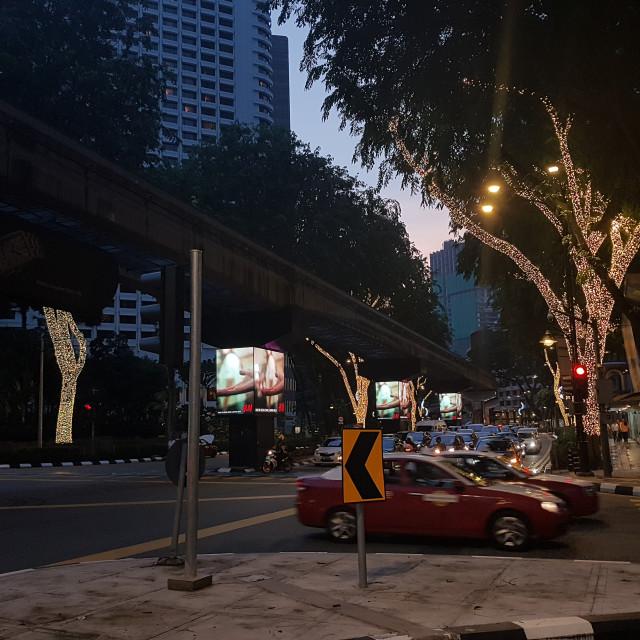 """Kuala Lumpur, Malaysia"" stock image"