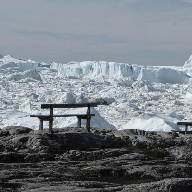 """Ilulissat Icefjord"" stock image"