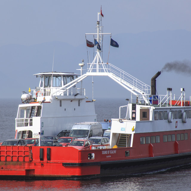 """Gourock Ferry, Gourock, Scotland"" stock image"