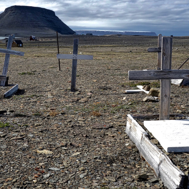 """""""Abandoned graveyard"""" stock image"""