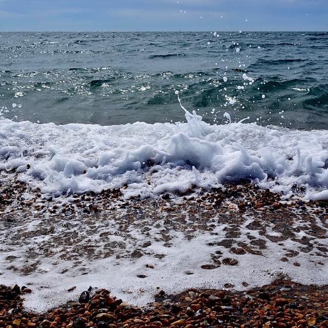 """Sea Surf Curls"" stock image"
