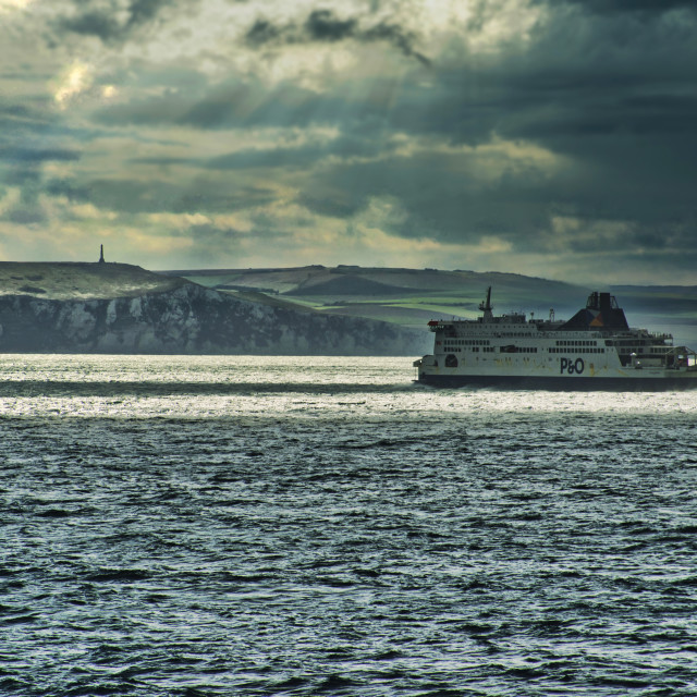 """""""Ferry to Dover"""" stock image"""
