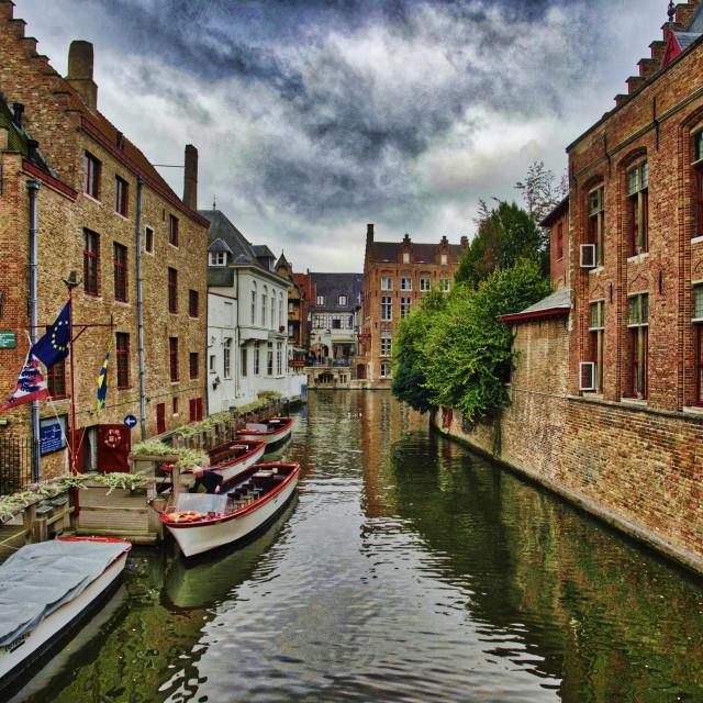"""Brugge"" stock image"