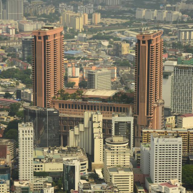 """Kuala Lumpur Skyline"" stock image"