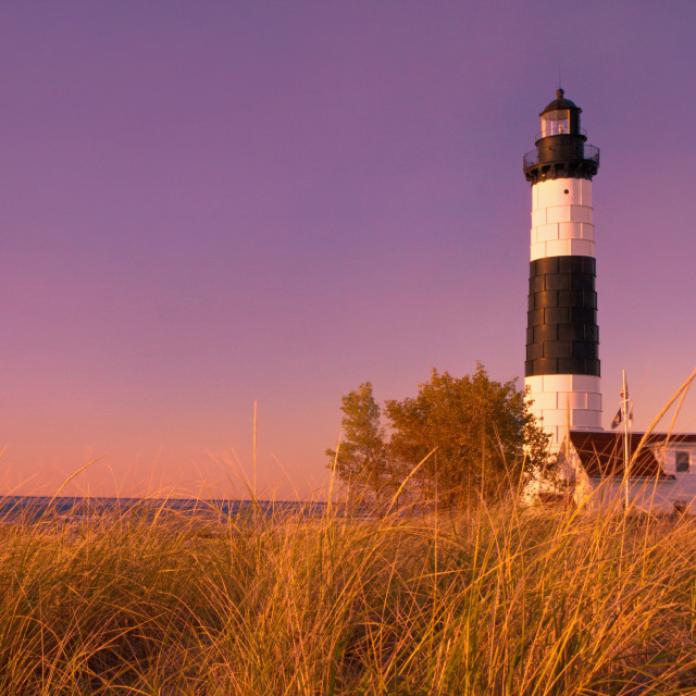 """Big Sable Lighthouse"" stock image"