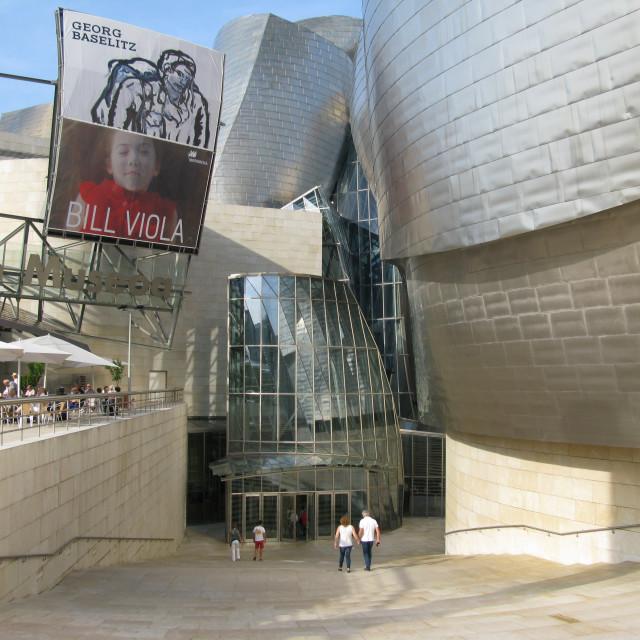 """""""Guggenheim Museum, Bilbao"""" stock image"""