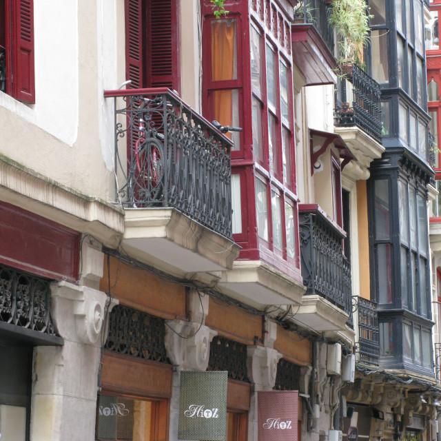 """""""Bilbao Architecture"""" stock image"""