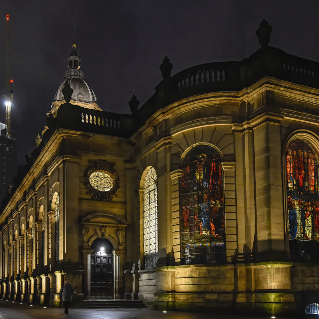 """Birmingham Cathedral"" stock image"