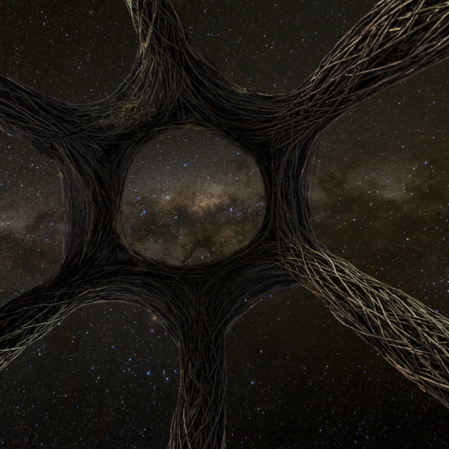 """""""Galaxy gateway"""" stock image"""