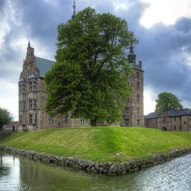 """""""Rosenborg Castle and The King's Garden, Copenhagen"""" stock image"""