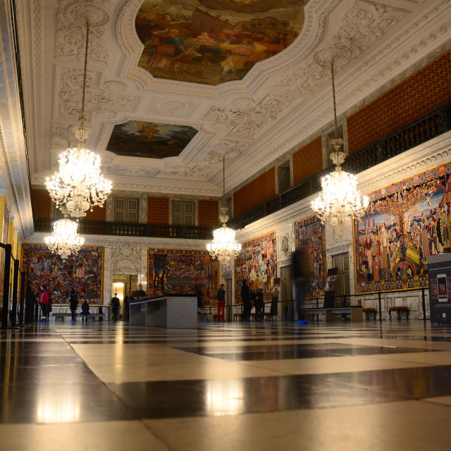 """""""Christiansborg Palace, Copenhagen"""" stock image"""
