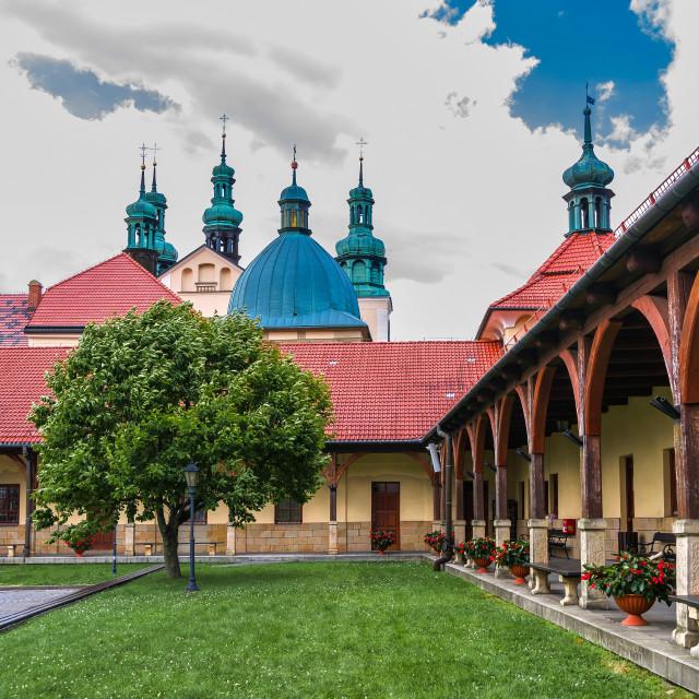 """""""Kalwaria Zebrzydowska Sanctuary"""" stock image"""