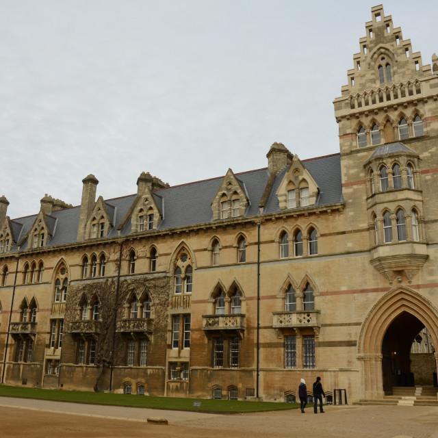 """University of Oxford"" stock image"
