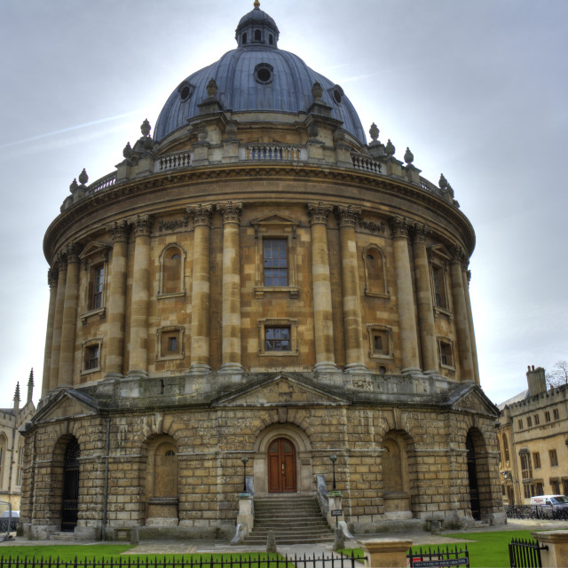 """Bodleian Library, Oxford"" stock image"