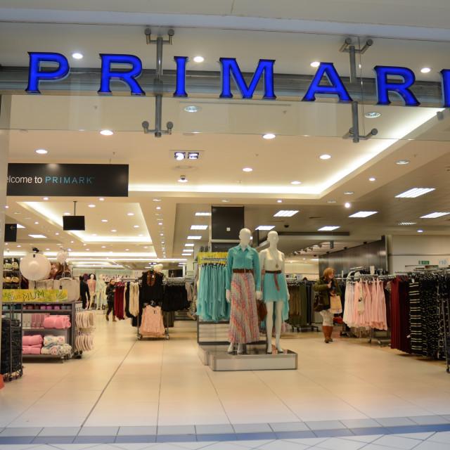 """Primark store, Oxford"" stock image"