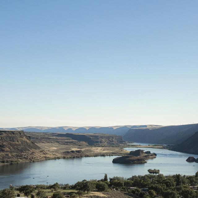 """""""Eastern Washington Landscape"""" stock image"""